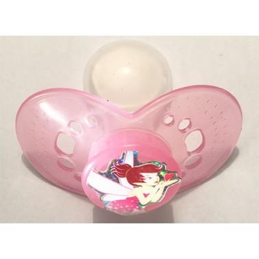 Fairy Princess™® on Adult Size HUGE Transparent Light Pink Guard - MST5 Teat only