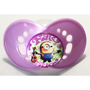 """Minions™® """"Far Out"""" on Adult Size HUGE Lavender Guard - MST5 Teat only"""